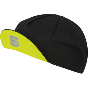 Sportful Infinite Cap black/yellow fluo